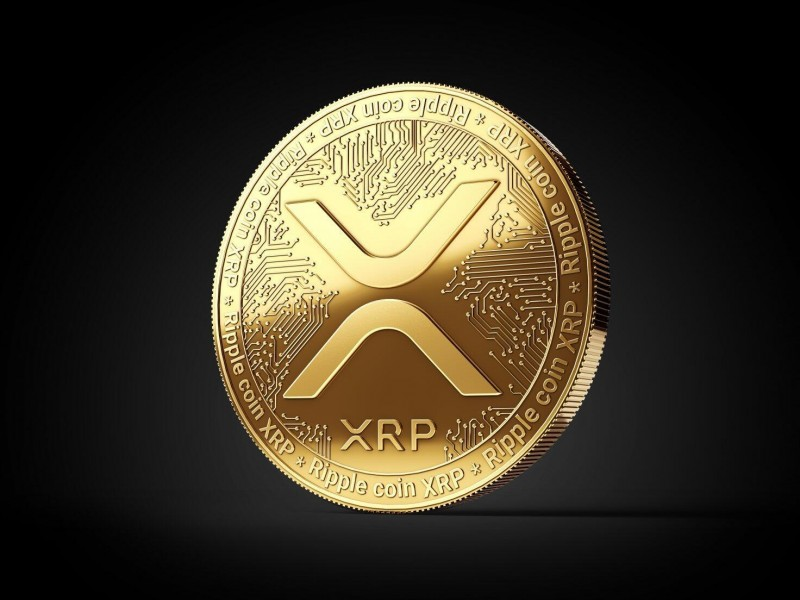 Cryptocurrency XRP sank 10%