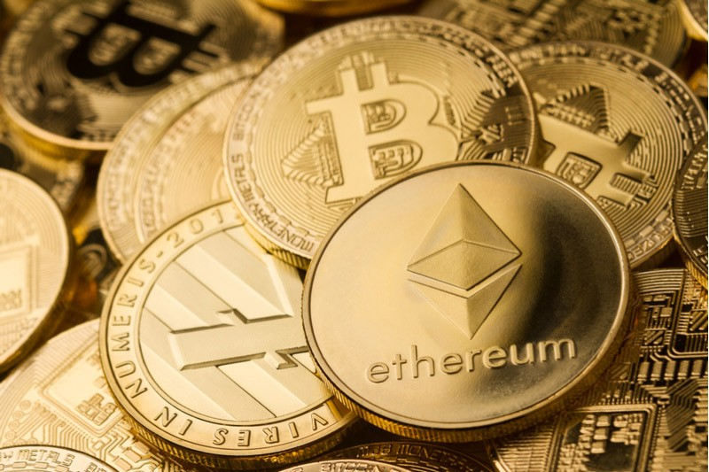 Etherium cryptocurrency surged 11%